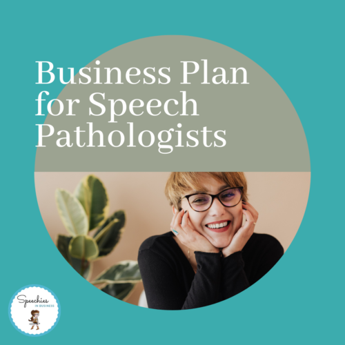 business plan for speech pathologists
