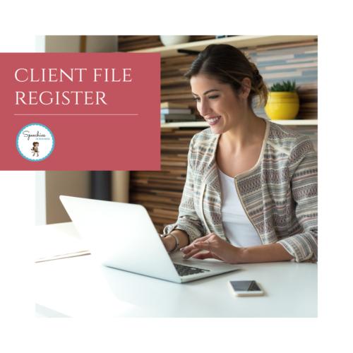 Client File Register