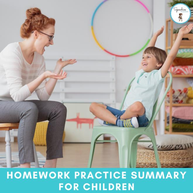 Homework Practice Summary
