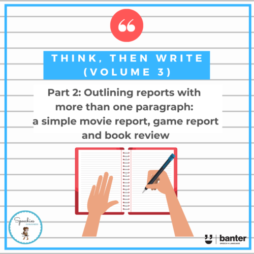 Think, then Write (Volume 3) Part 2: From single paragraphs to multi-paragraph reports